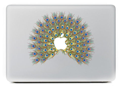"Peacock feather Pattern Mac laptop Skin for Air/Pro/Retina 11"" 12"" 13"" 15"