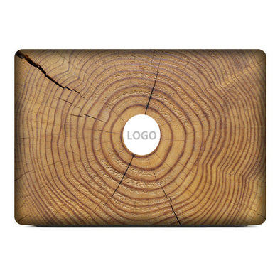 3D Wood Rings Marble Vinyl Decal Sticker