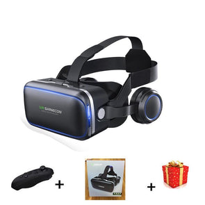 3D Glasses VR BOX with Headphone