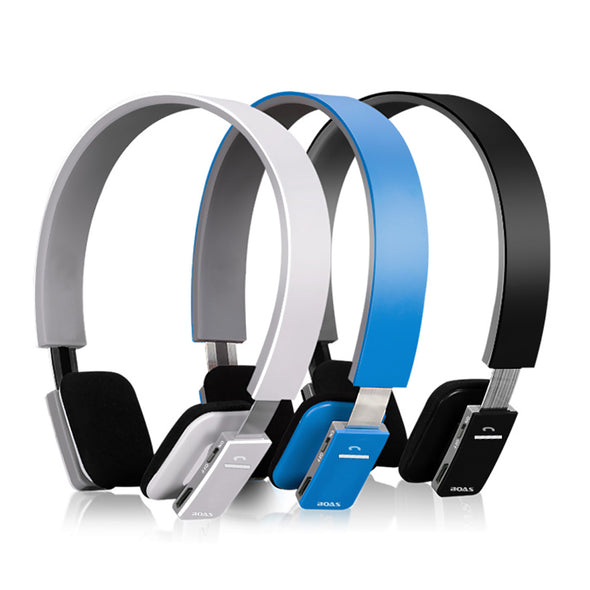 Wireless Bluetooth On-Ear Earphones and Headphones