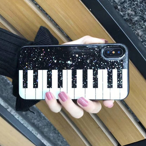 Lovely Piano Phone Case For iphone X