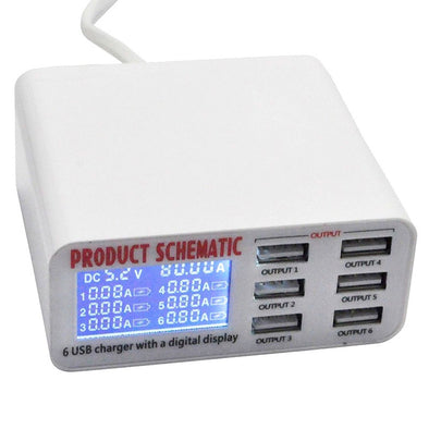 Portable Multi USB Port Rapid Charger