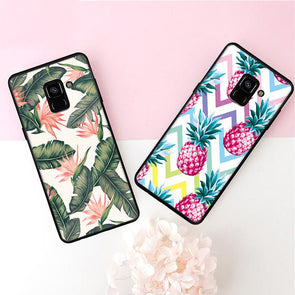 Soft Samsung Case For Galaxy S9 S8 A8 Plus A7 A5 A3 J5 J7 J3