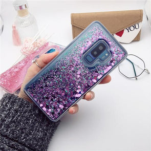 Dynamic Liquid Glitter Case For Galaxy