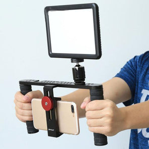 Dual Handle Stabilizer Filmmaking & Recording Video Rig