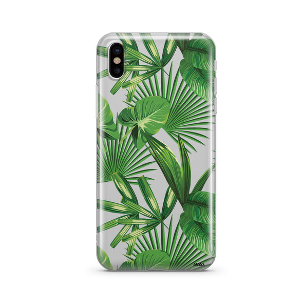 Tropical Palm Leaves Case for iPhone & Galaxy