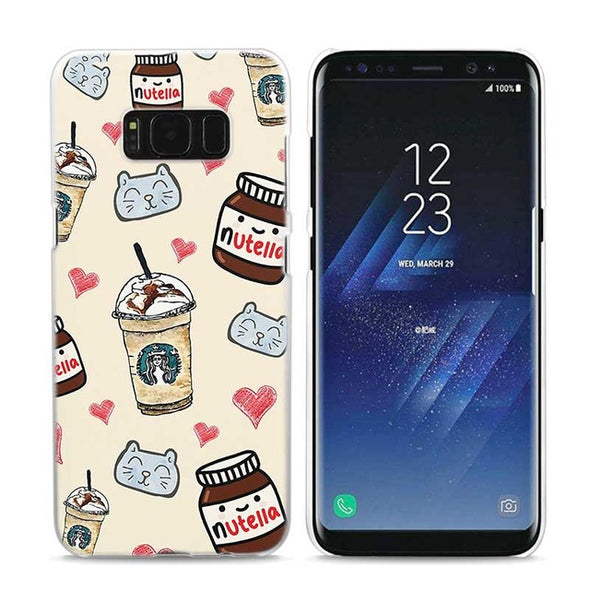 Funny Chills Pills Chocolate design case for Samsung Galaxy S9 S8 S7 S6 S5