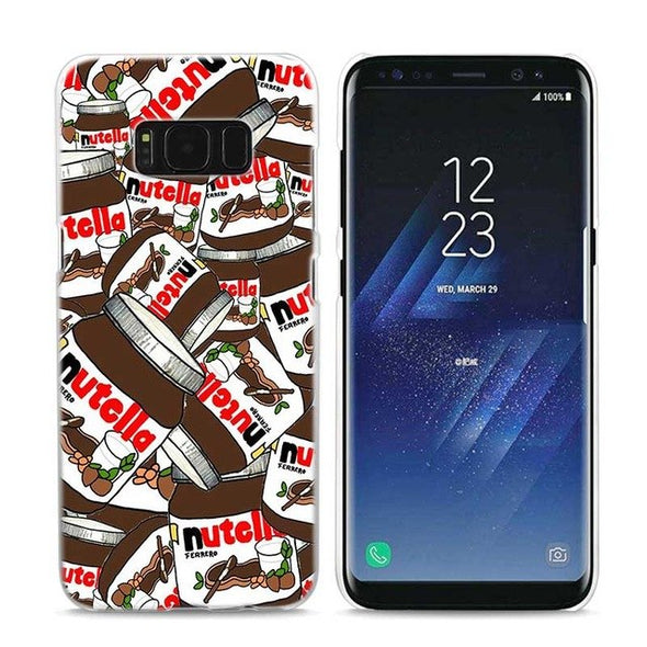 Funny Chill Pills & Nutella Design Case for Galaxy