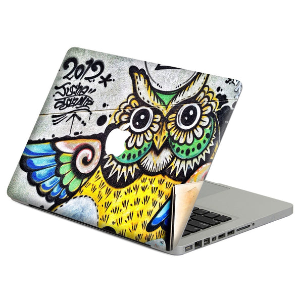 Cool Owl graffiti Laptop Decal Sticker Skin For MacBook Air Pro