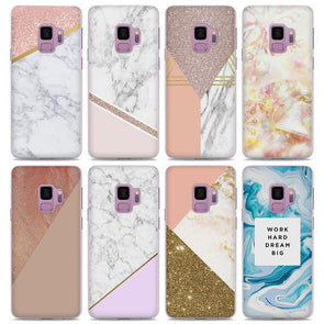 Gorgeous Marble Style Pattern Cases for Galaxy