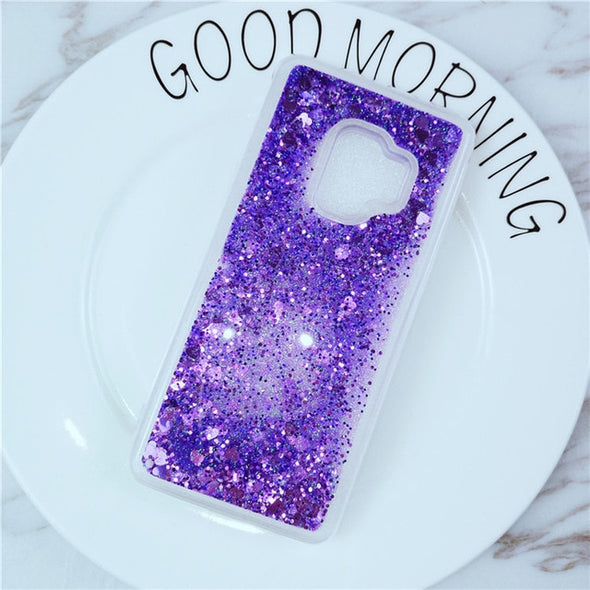 Liquid Glitter Samsung Case for Galaxy