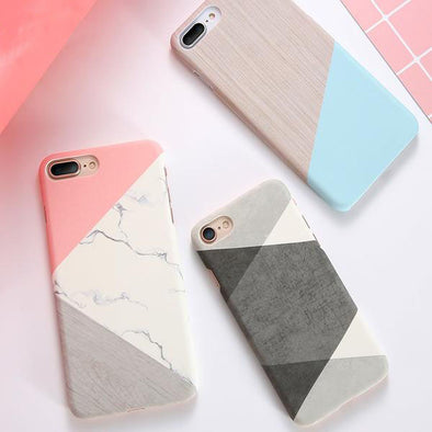 Slim Marble Patterned Cases for iPhone
