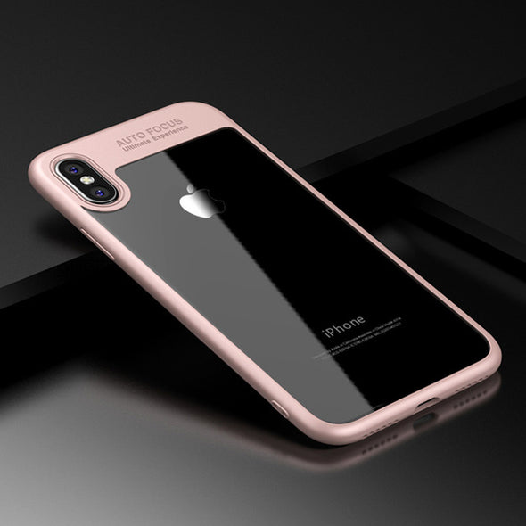 Ultra Slim Clear Shockproof Case for iPhone