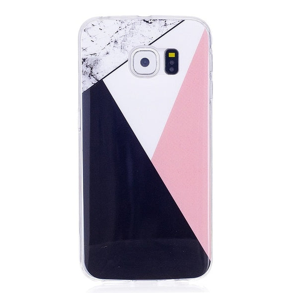 Fashion White Marble Case for Galaxy