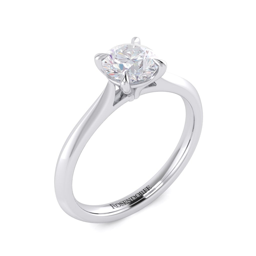 Brilliant Solitaire Diamond Ring~Design Only