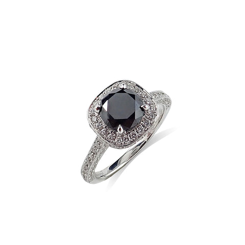 Rosendorff Black Diamond Ring | Shop Online | Ring - Rosendorff