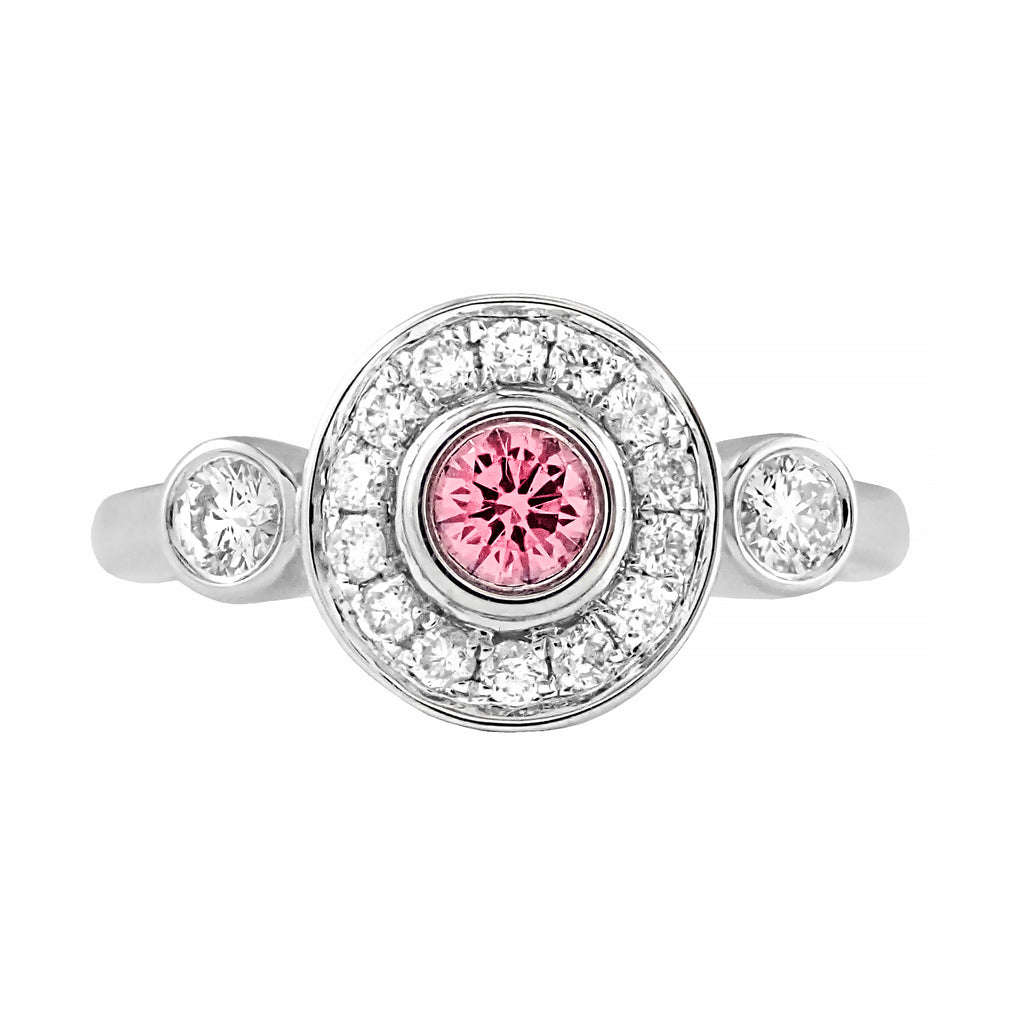 One Only Argyle Pink Diamond Ring | Shop Online | Ring - Rosendorff