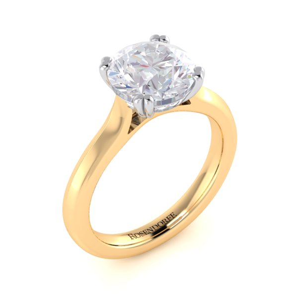 Brilliant Solitaire Ring ~Design Only