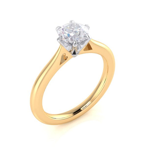 Brilliant Solitaire Engagement Ring ~ Design Only