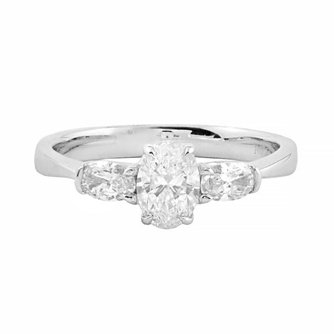 Belle Collection Trilogy Diamond Ring | Shop Online | Ring - Rosendorff