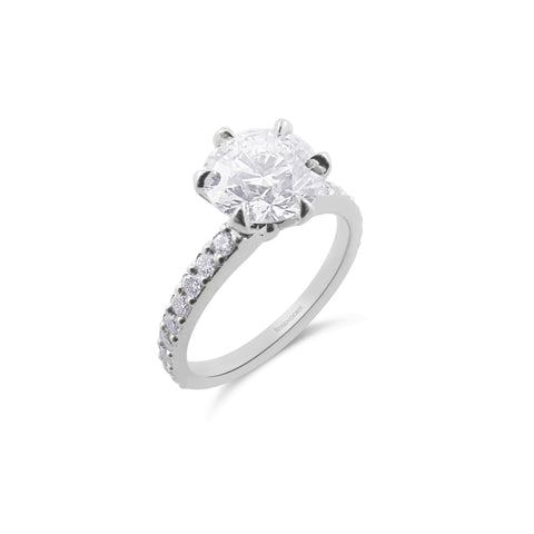 Brilliant Collection Diamond Ring | Shop Online | Ring - Rosendorff