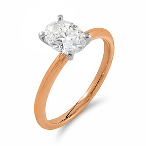 Belle Solitaire Diamond Ring | Shop Online | Ring - Rosendorff