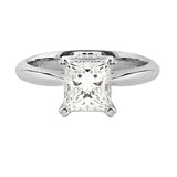 Princess Solitaire Diamond Ring | Shop Online | Ring - Rosendorff