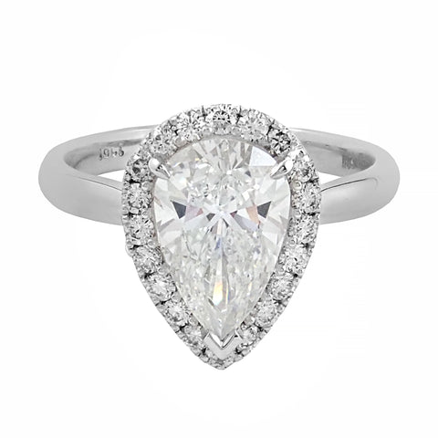 Bliss Collection Halo Diamond Ring | Shop Online | Ring - Rosendorff