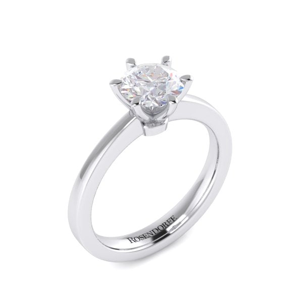 Solitaire Brilliant Diamond Ring~Design Only