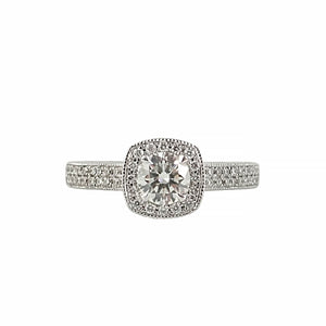 Diamond Halo Ring | Shop Online | Ring - Rosendorff