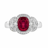 Impressive Oval Ruby Ring | Shop Online | Ring - Rosendorff