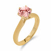 Brilliant Morganite Solitaire