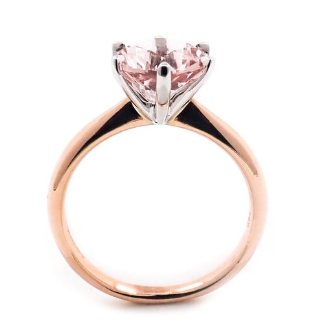 Morganite Ring - Stunningly beautiful