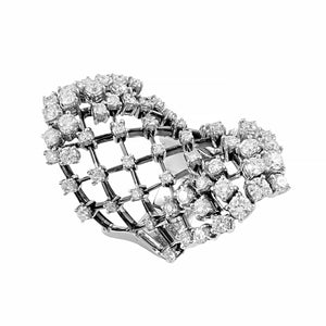 Fabulous Diamond Lattice Cocktail Ring | Shop Online | Ring - Rosendorff