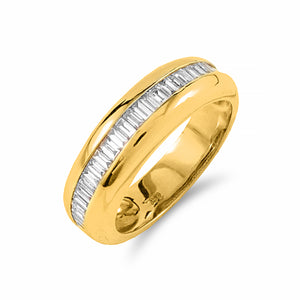 Baguette Diamond Band | Shop Online | Ring - Rosendorff
