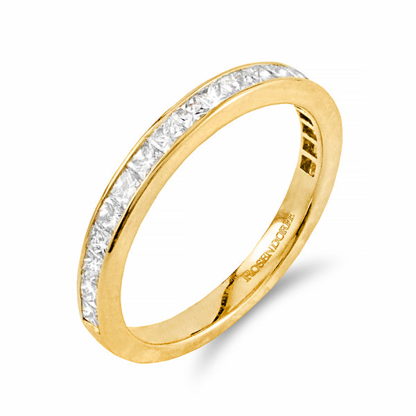 Princess Cut Diamond Band | Shop Online | Ring - Rosendorff