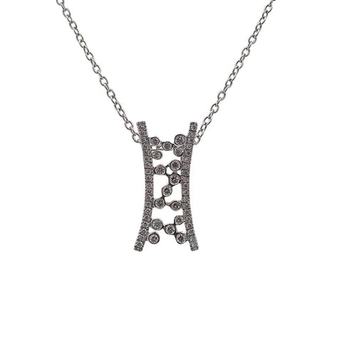 Fancy Brilliant Diamond Pendant 18ct