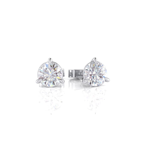 Diamond Stud Earrings 18ct