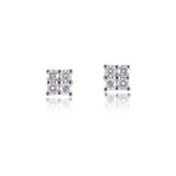 Diamond Stud Earrings 18ct Gold