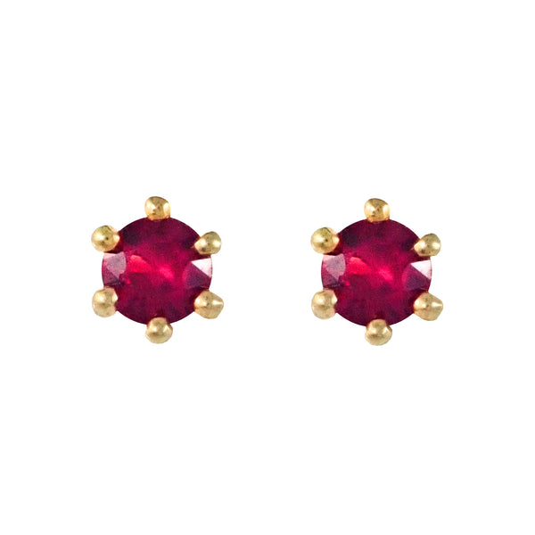 Ruby Studs | Shop Online | Earrings - Rosendorff