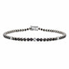 Black & White Brilliant Diamond Bracelet