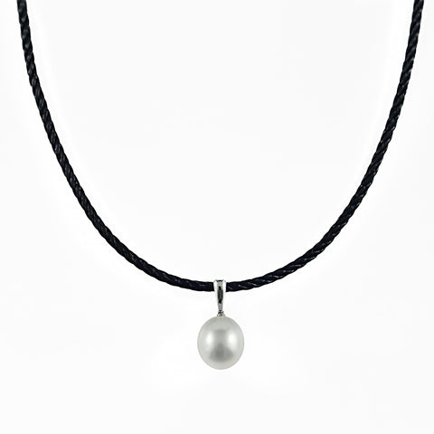 South Sea Pearl 12mm on 45cm Silk 2.9mm Round Cord 2 With 18ct Gold Clasp | Shop Online | Necklace - Rosendorff