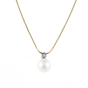 Timeless South Sea Pearl and Diamond Pendant | Shop Online | Pendant - Rosendorff