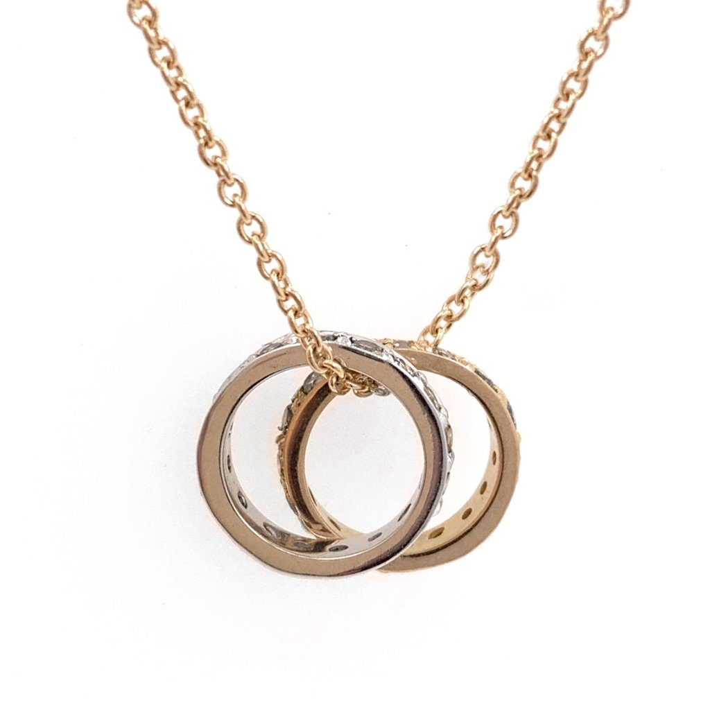 Circle of Diamonds Pendant