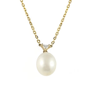 South Sea Pearl and Diamond Necklace | Shop Online - Necklace - Rosendorffs Diamonds Perth, Australia