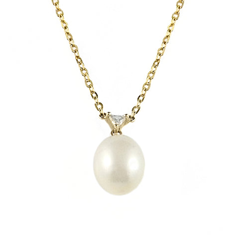 South Sea Pearl and Diamond Necklace | Shop Online | Necklace - Rosendorff