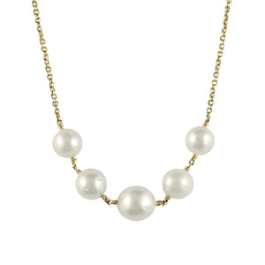 Broome Pearl and Gold Chain | Shop Online - Chain - Rosendorffs Diamonds Perth, Australia