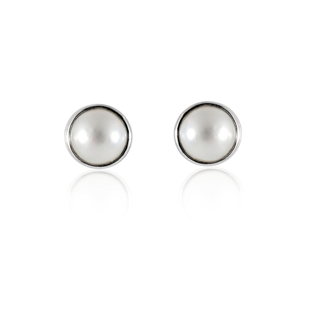 White mabe pearls