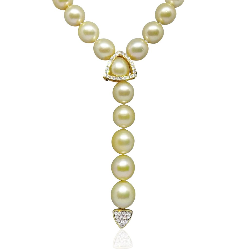 Gold and south sea pearls