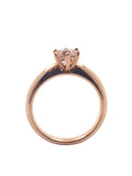Morganite Rose Gold Solitaire